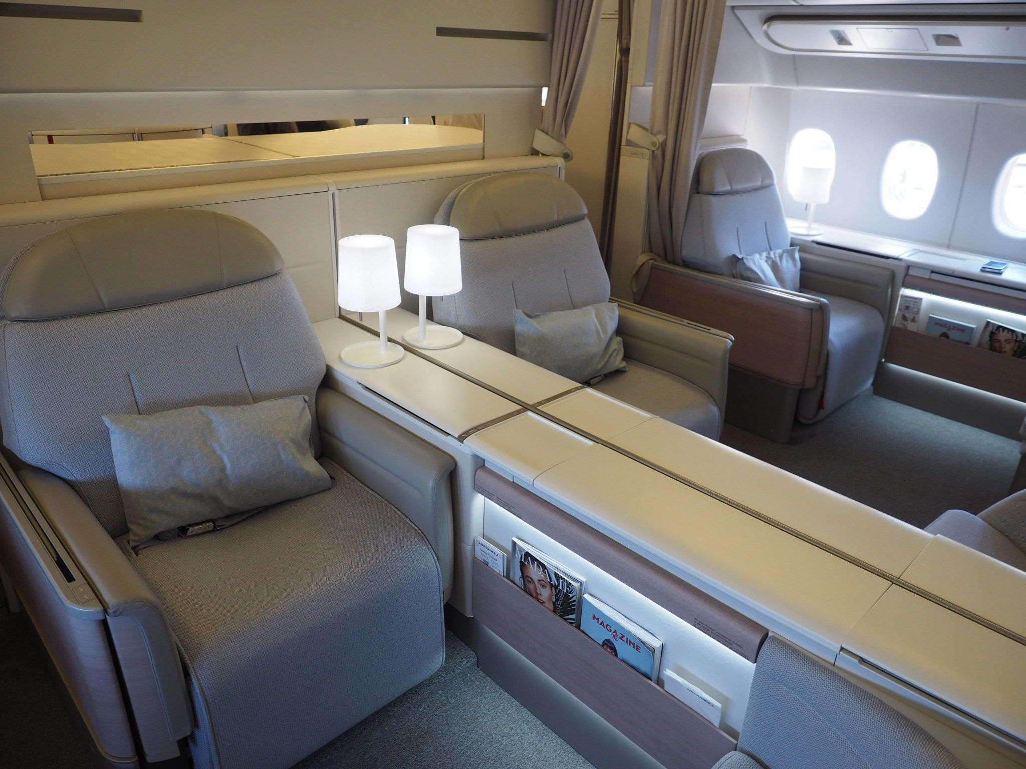 Review Air France 777 First Class From Paris To New York With