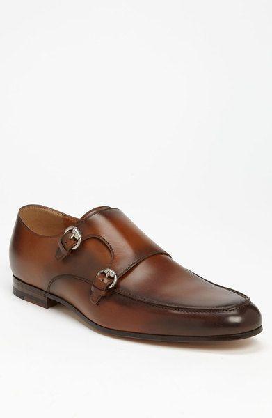 cd01d000459d Gucci Bonnard Monk Strap in Brown for Men (light brown) - Lyst ...