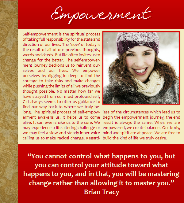 Empowerment, Strength, Winter, Christmas, Holidays, Hanukkah, Brian Tracy, Snow, Quotes
