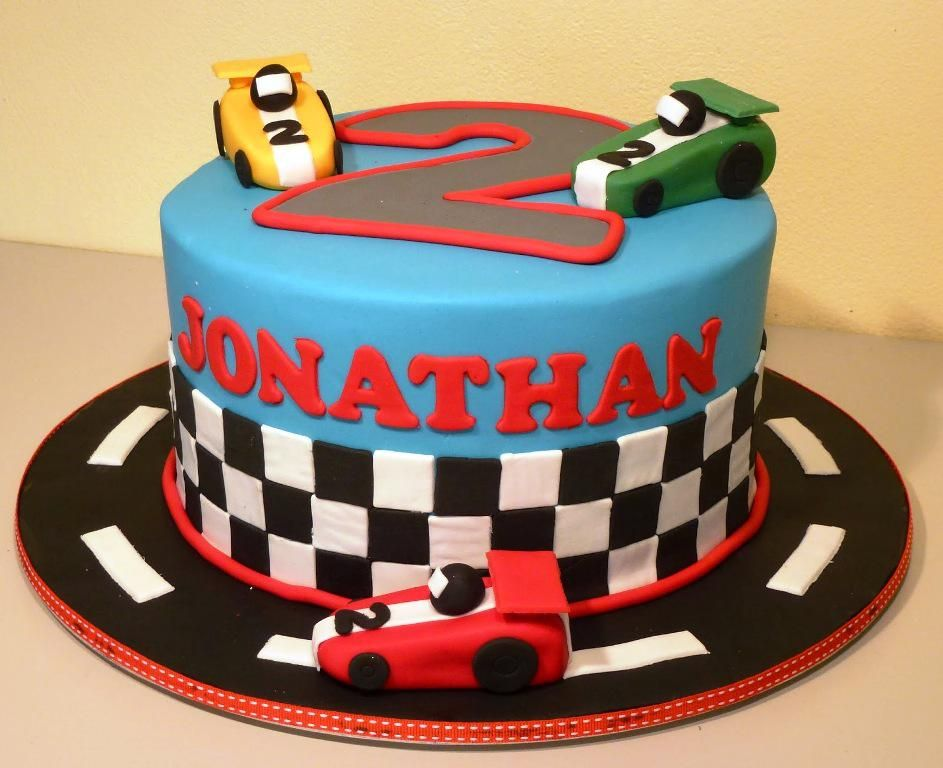 Birthday Cake Photos Racing Car : simple race car cake ideas - Google-s?gning Cars cake ...
