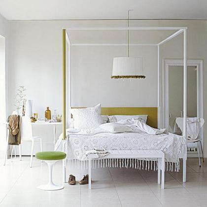 Dormitorio BLANCO Pinterest Dormitorio y Blanco - decoracion de interiores dormitorios