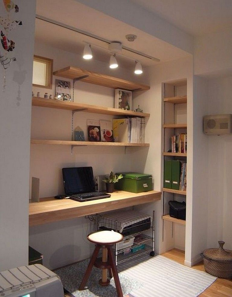 Cool Wall Storage Ideas Small Office Storagesolutions Storageshedplans Storageshed Home Office Decor Contemporary Home Office Home Office Design
