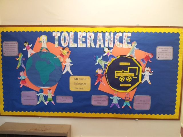 Year 5 Display On Tolerance