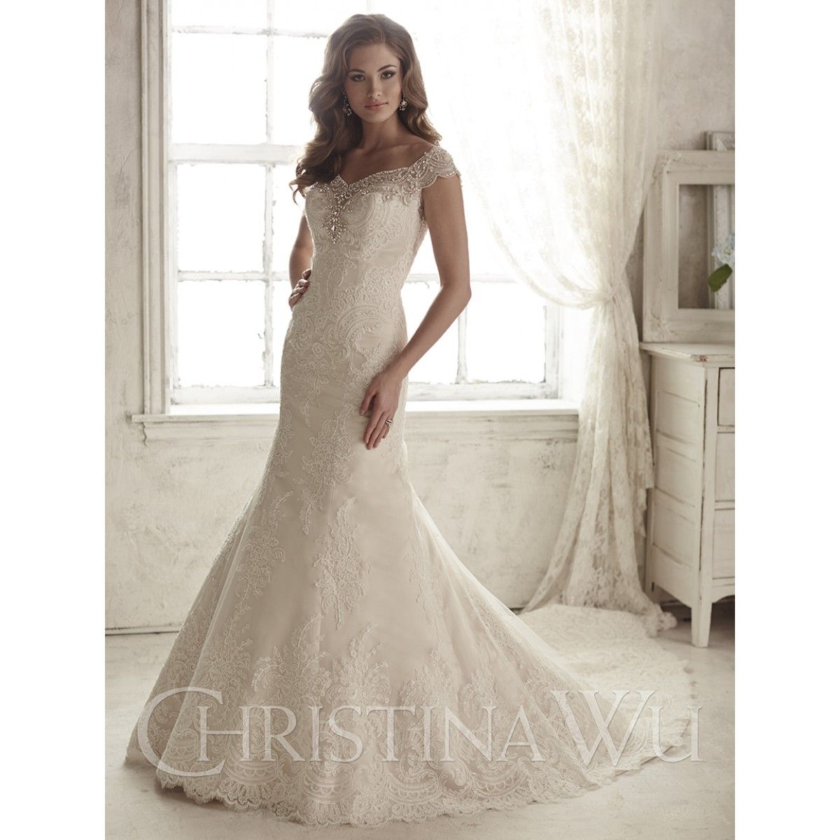 Look what just arrived Suzannesbridal Christina Wu Style