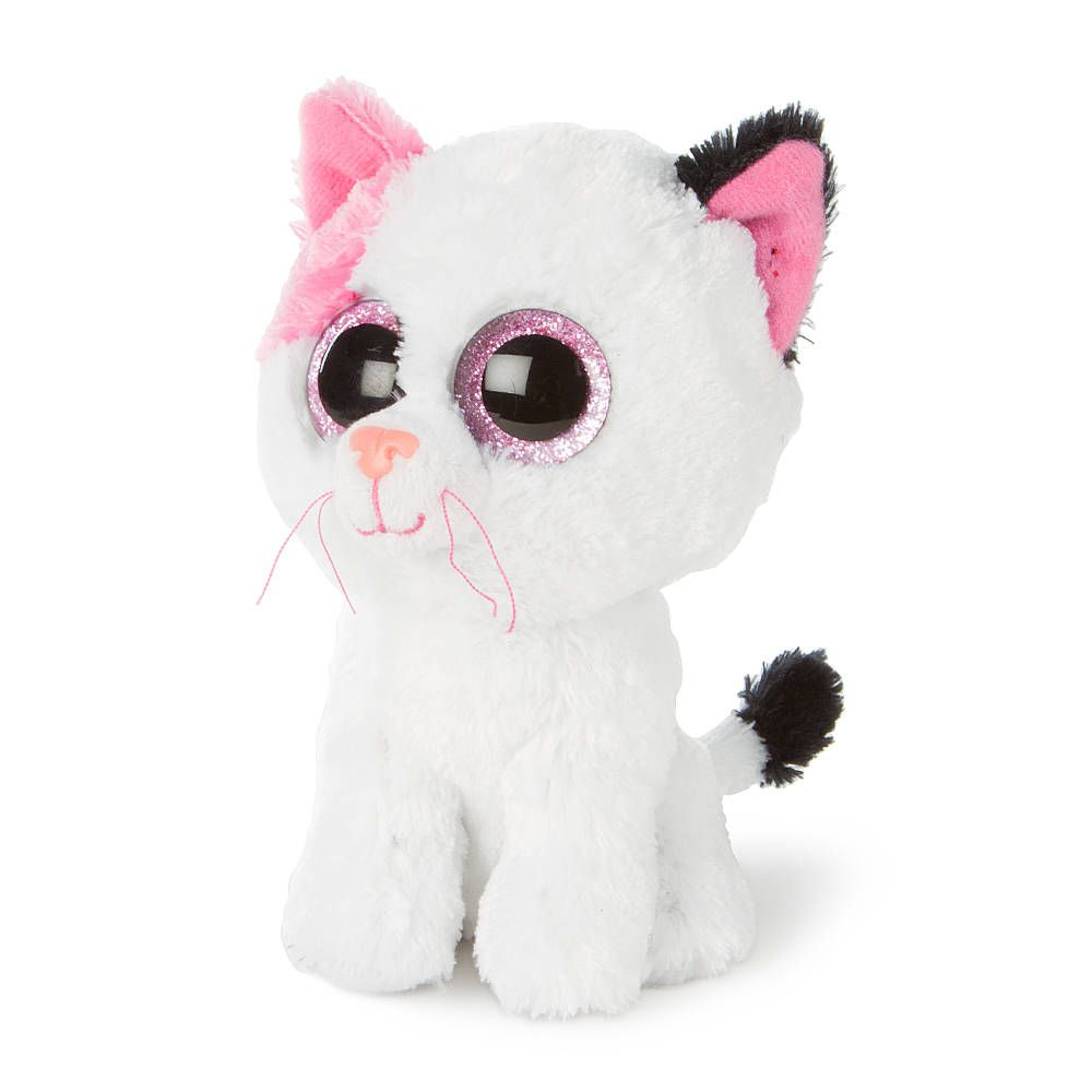 Ty Beanie Boos Plush Muffin the White Cat - 6