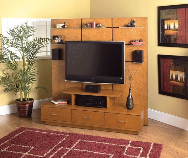 home theater tv stand. welton 5th avenue 55 inch tv stand with support wall home theater system (light cherry tv