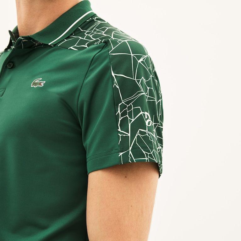 Men S Sport Novak Djokovic Stretch Technical Jersey Polo Slim Fit Men Mens Polo T Shirts Men
