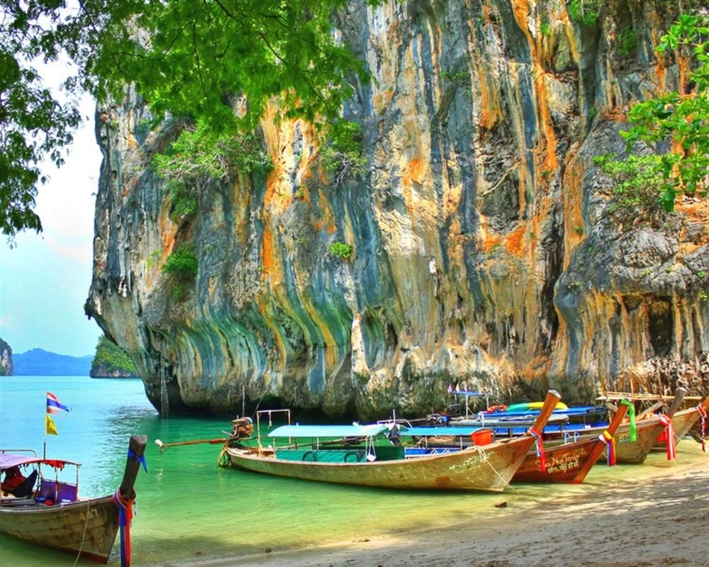 Favourite Beach In The World Hong Island Tour By Longtail Boat Island Tour Krabi Island Asia Travel