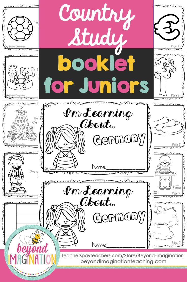Germany Booklet Country Study Project Unit   Classroom activities    Pinterest   Study, Teaching and Social studies