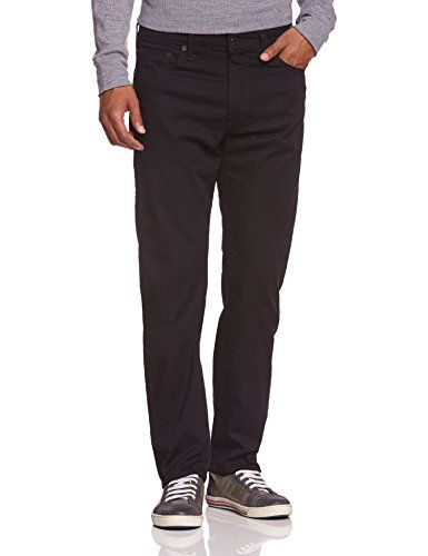 Levi's - 504 Regular Straight Fit, Pantolon straight da uomo, nero (moonshine), 32W x 30L Levi's