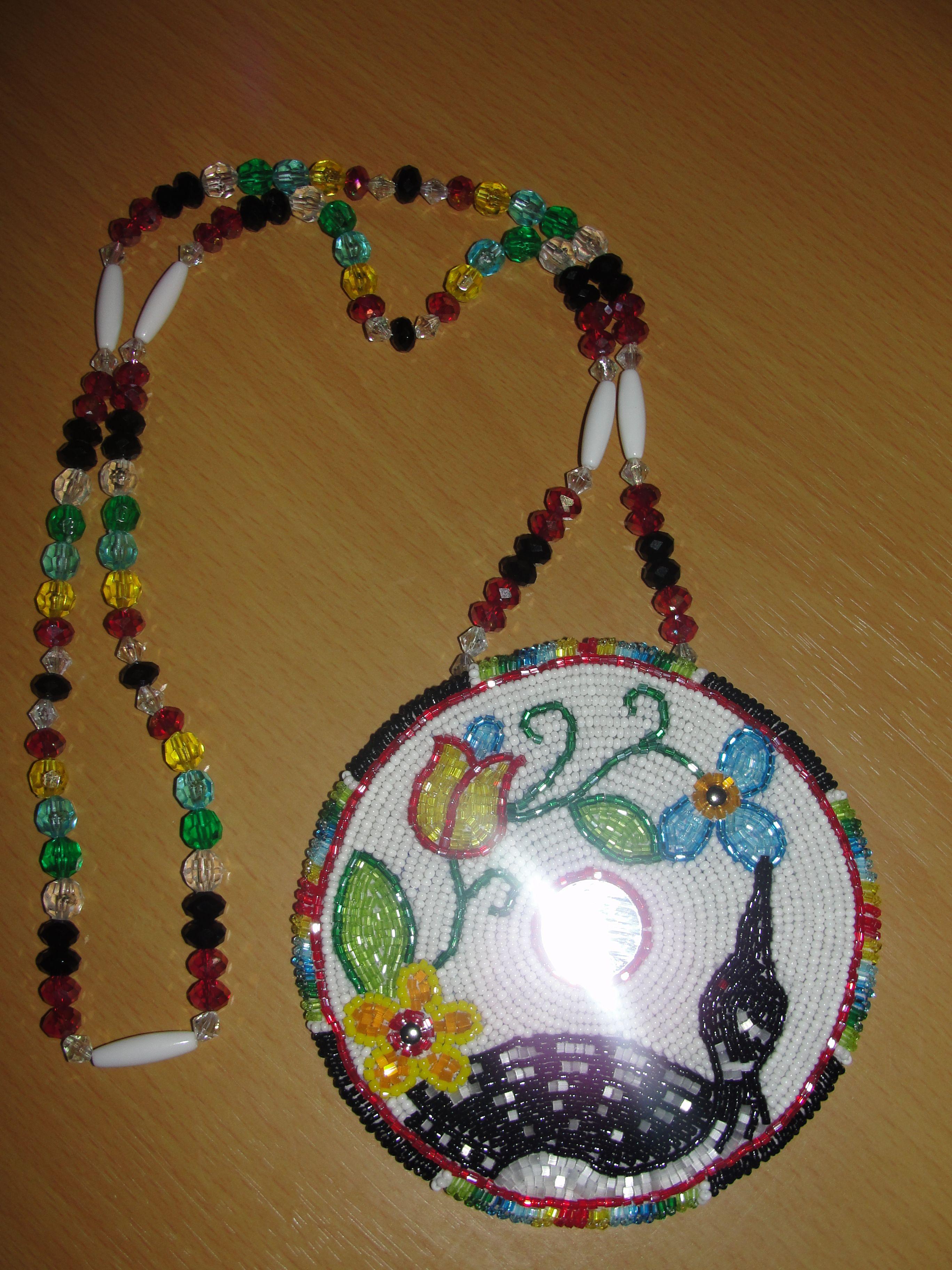 2c4bd0f8b traditional ojibwe floral designs | Ojibwe Floral Medallion by Denial616 on  DeviantArt
