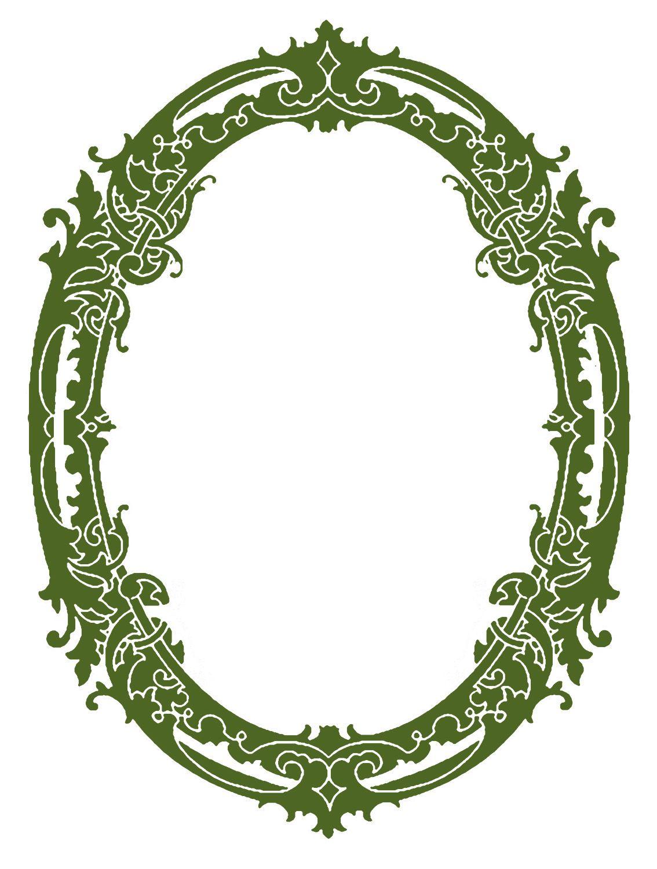 vintage clip art stunning silhouette frames christmas rh pinterest co uk  vintage christmas clipart borders