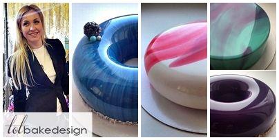 mirror cakes by Olga Noskova   ... Kek Umpama Batu Permata dari Olga Noskova, Cake Artist Dari Russia