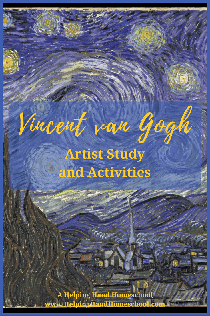 Photo of Vincent van Gogh Artist Study and Activities