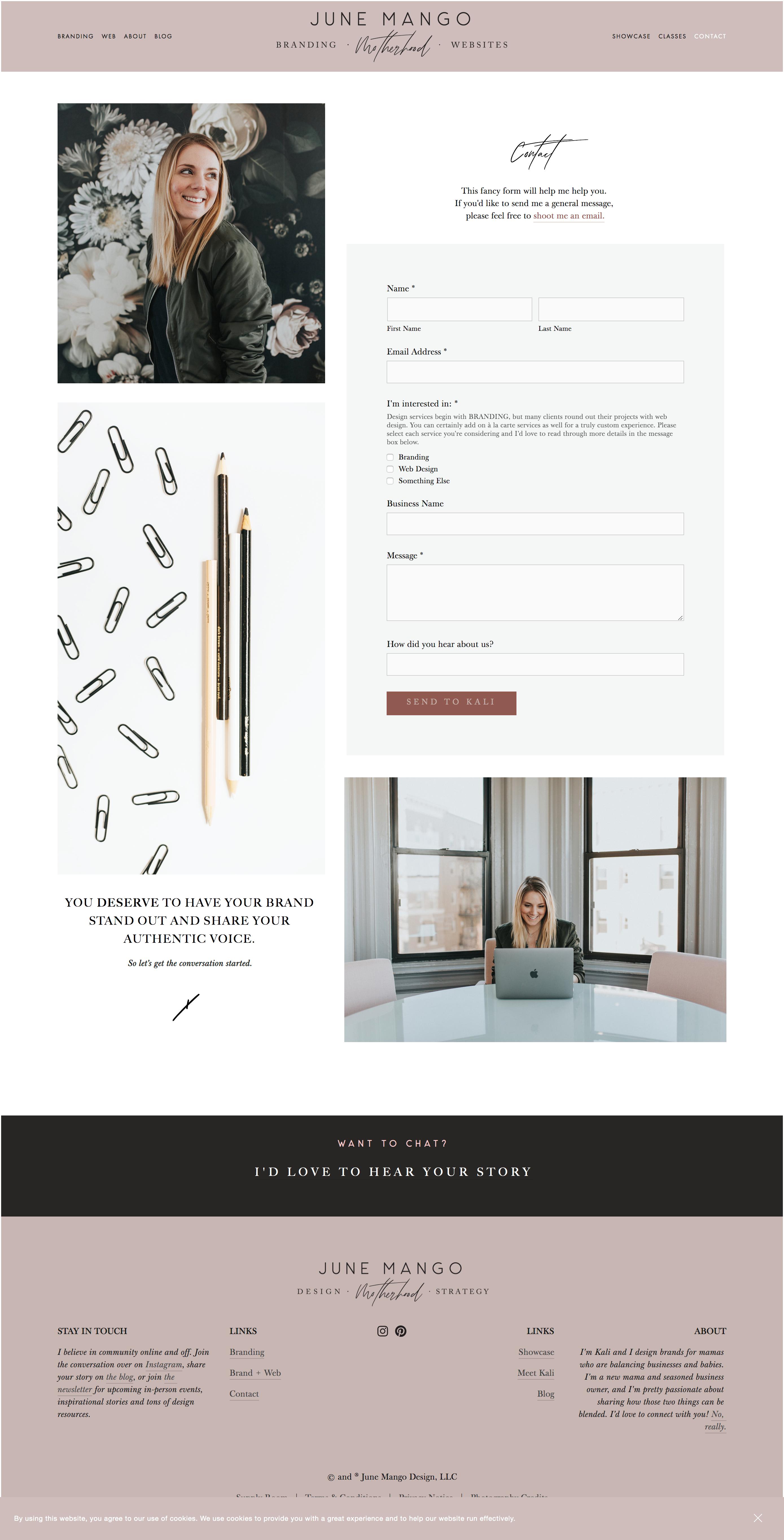 Unique Contact Page Layouts Web Design Inspiration Layout Web Design Logo Web Development Design