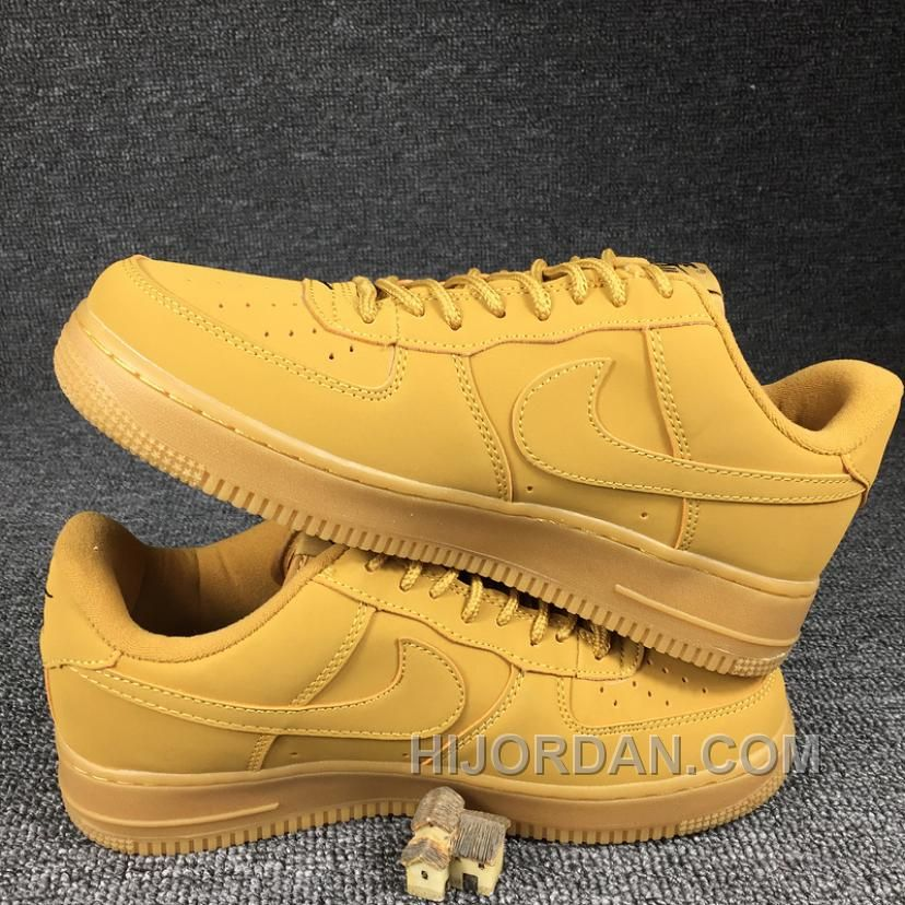official photos 62bfd a5536 2016 NIKE AIR FORCE 1 Low 715889-200 Wheat Women Men Online