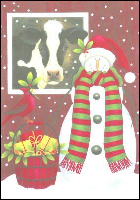 Holstein Cow Christmas Cards | Farm love!!! | Pinterest | Christmas ...
