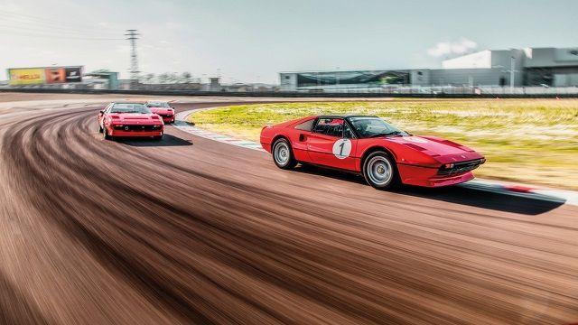 La Ferrari Classiche Academy apprend à dompter les anciens modèles #newferrari