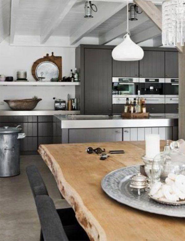 Masculine kitchen Design Ideas #kitchen #masculine #masculinekitchen #masculinedesign #masculinedecor #masculinekitchendecor