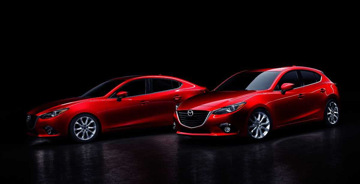 The 2015 Mazda3 Sedan vs the 2015 Honda Civic Sedan! What