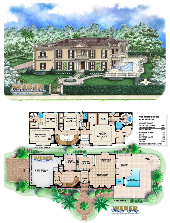 Ashton House Plan Weber Design Group Naples FL Ashton Design Group House Kitchenf