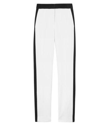 Tibi Anson Color Block Pants - ShopBAZAAR
