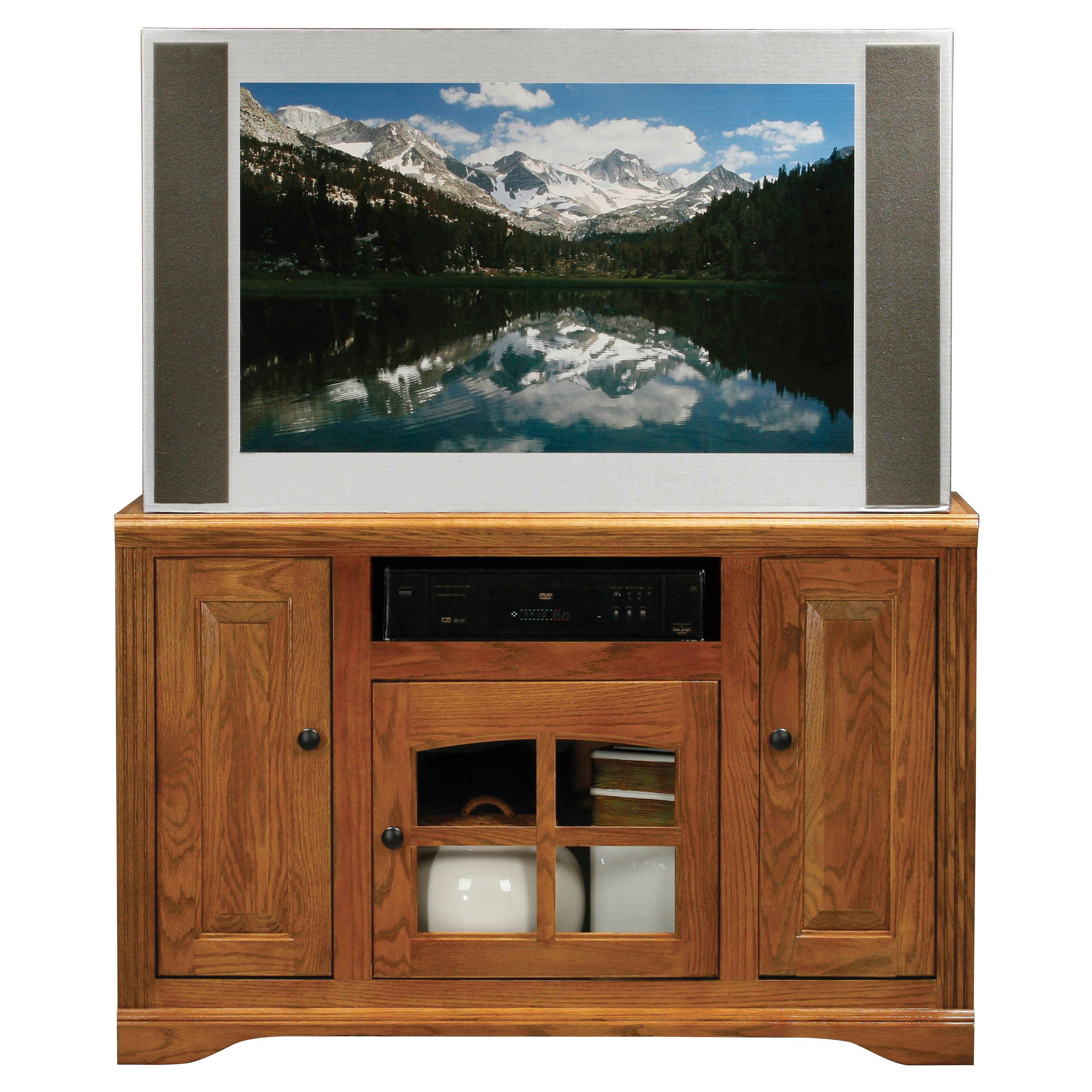 Eagle Furniture Oak Ridge 45 In Wide Screen Tv Stand The Lets You Create A Stylish And Functional