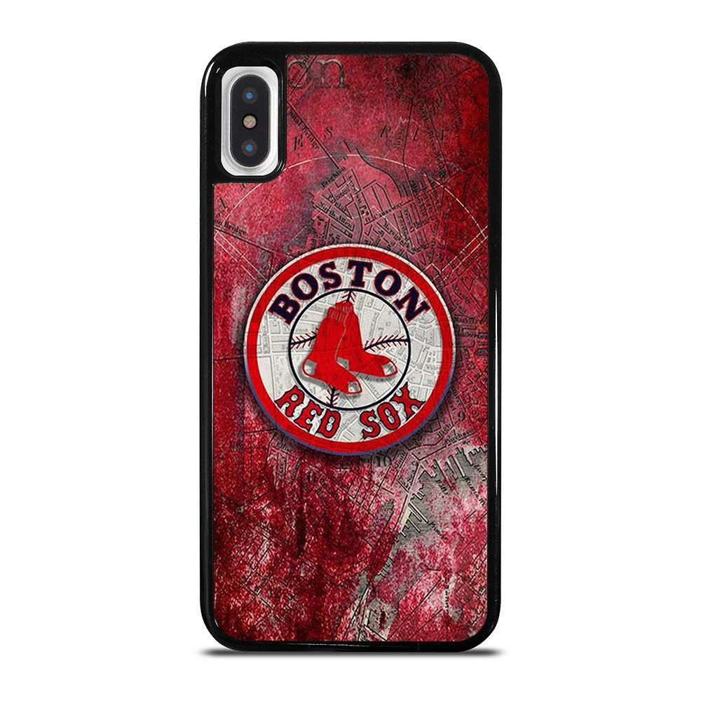 Boston Red Sox Mlb Logo Iphone X Xs Case Cover Casesummer Red Wallpaper Iphone Case Boston red sox iphone 11 wallpaper