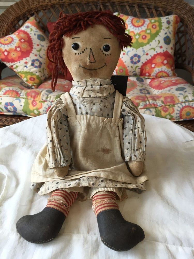 Volland Raggedy Ann Doll #DollswithClothingAccessories