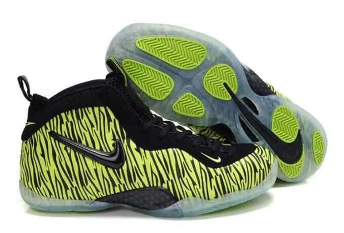 b546b98bebfe7 Lime Zebra Foamposites