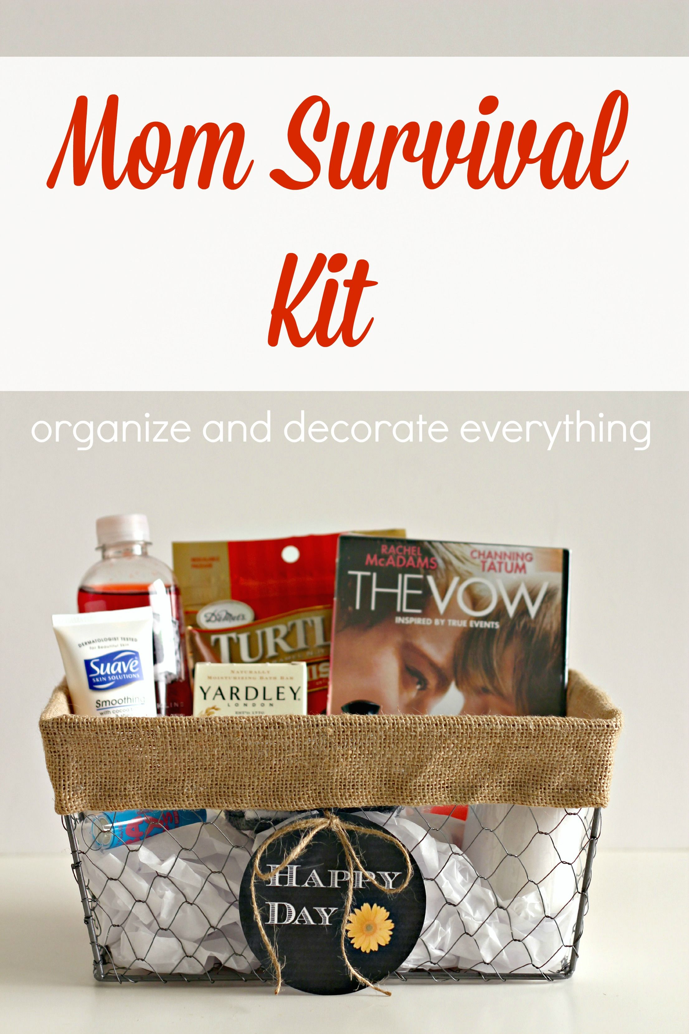 Mom survival kit printable tags survival kits and free printable mom survival kit plus 4 free printable tags organize and decorate everything dollar store stuff negle Image collections