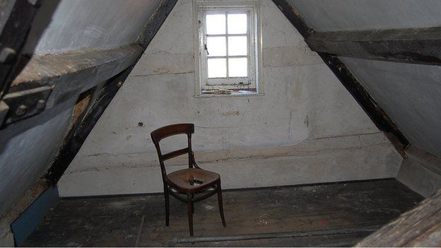Ghost Of A Chance For Haunted Home In 2020 Attic Flooring Attic Remodel Attic Design