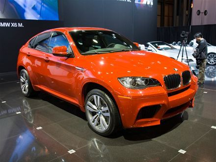 2010 BMW X6 M BMW X series orange SUV BMWs Only