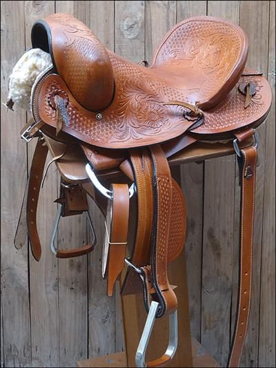 HSBX206-HILASON BRAND NEW HAND-MADE LEATHER RODEO BRONC