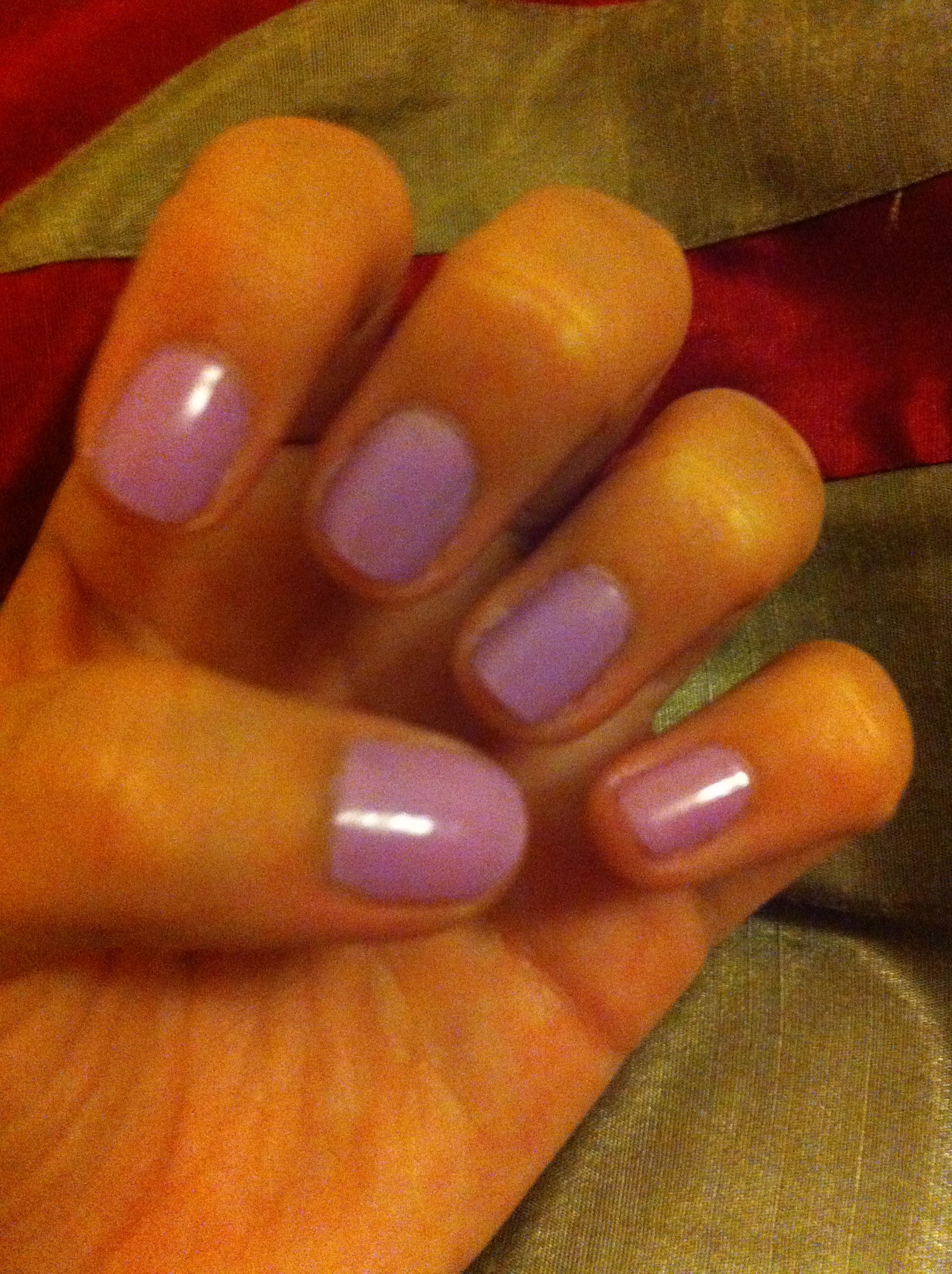 Nail polish from Barry M  berry ice cream