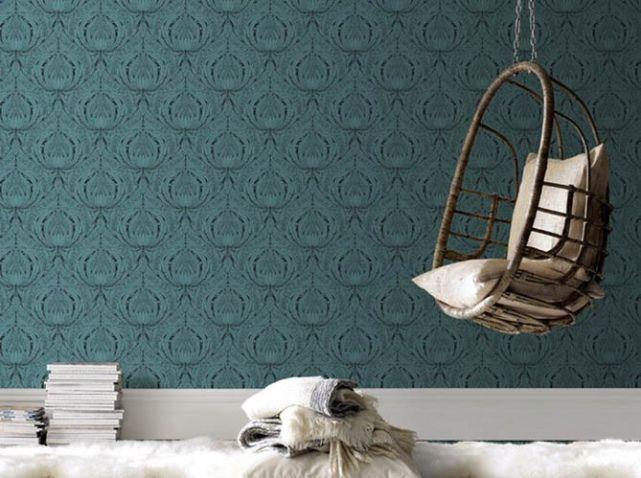 papier peint chambre papiers peints wallpaper pinterest papier peint chambre peindre. Black Bedroom Furniture Sets. Home Design Ideas