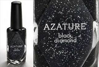 This is a $250,000 dollar bottle of nail polish that has crushed black diamond powder in it! Holy Moly!