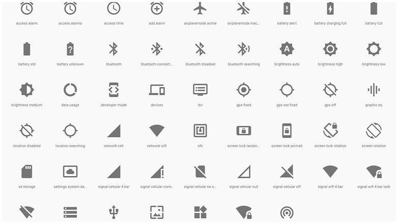 Android Este Es El Significado De Los Iconos De Estado Y Notificación En Vuestro Smartphone Androidpit Iconos Whatsapp Barra De Notificaciones Android