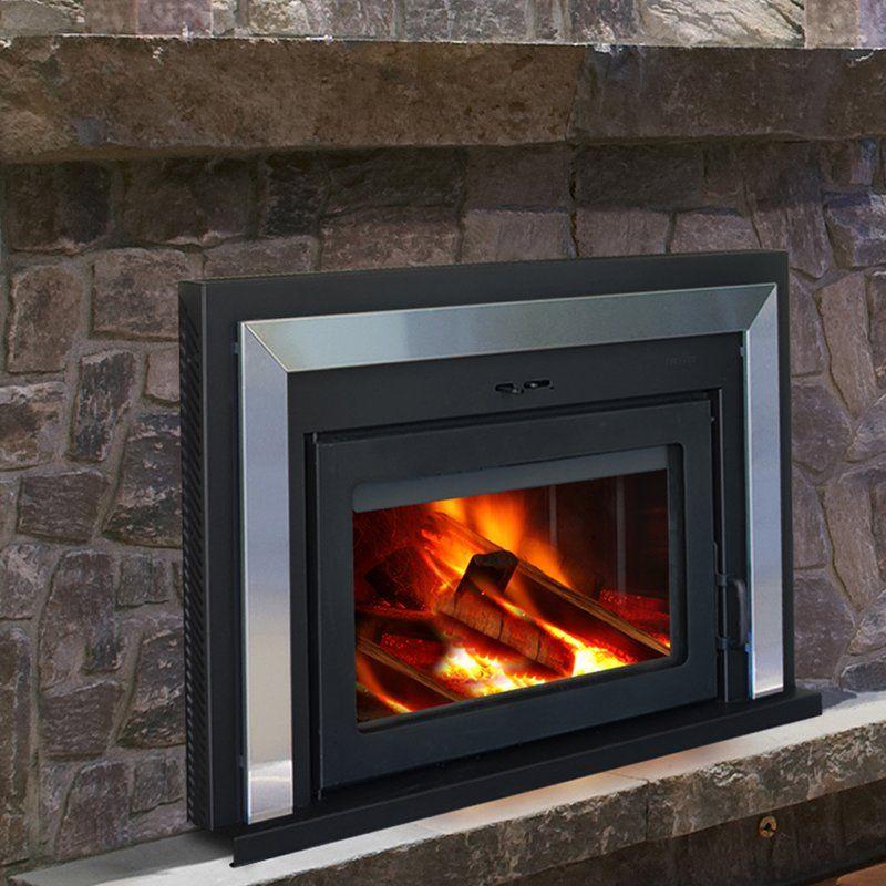 Fusion Wood Burning Fireplace Insert Wood Burning Fireplace