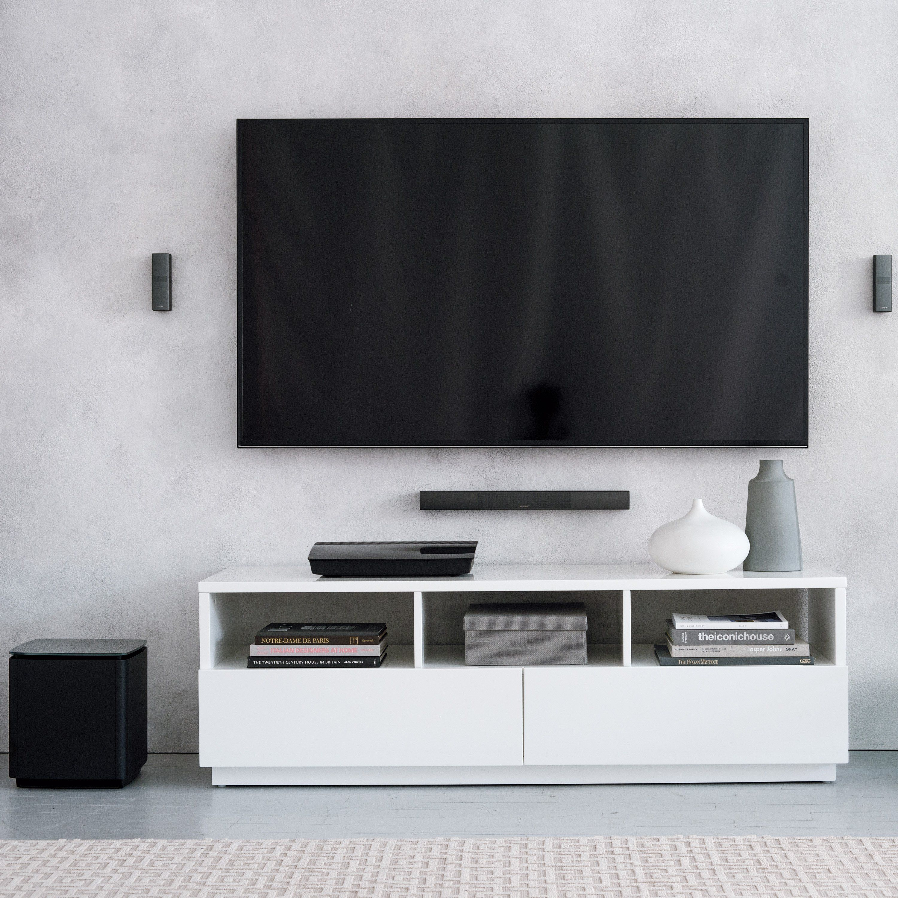 Bose Home Cinema Bose Home Theater System - Lifestyle 650 Black | Bose Home Theater, Home Cinema Room, Home