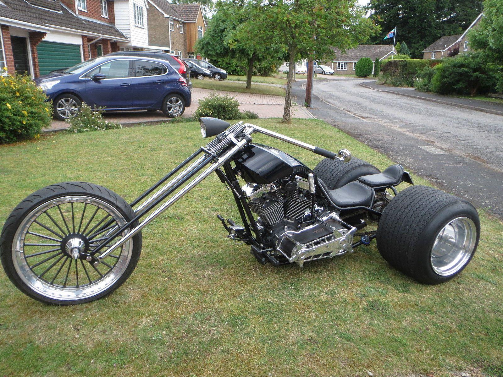 1800cc Custom Yamaha Trike built by Attitude Customs in 2011 ...