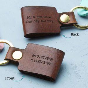 ERIK Personalised Name Keyring Keychain Key Fob Bespoke Stainless Steel Gift