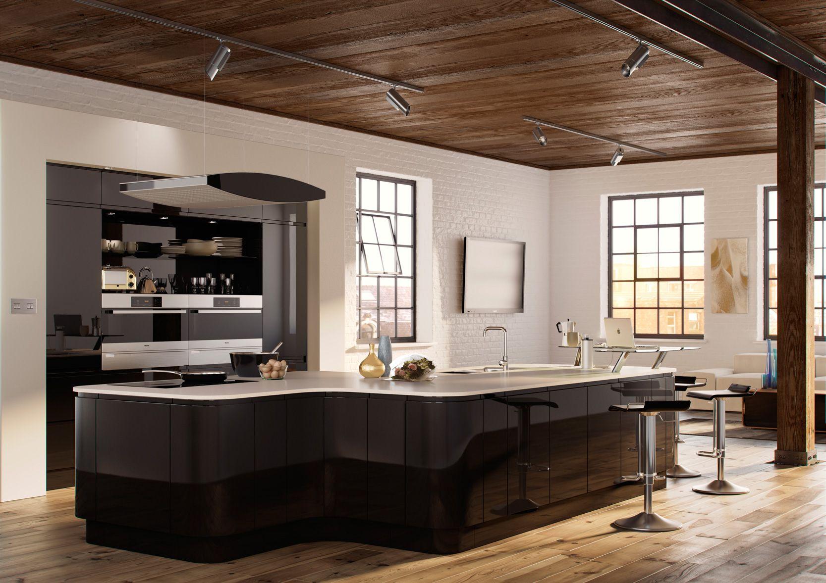 Matt Anthracite Cheap kitchen units, Kitchen design