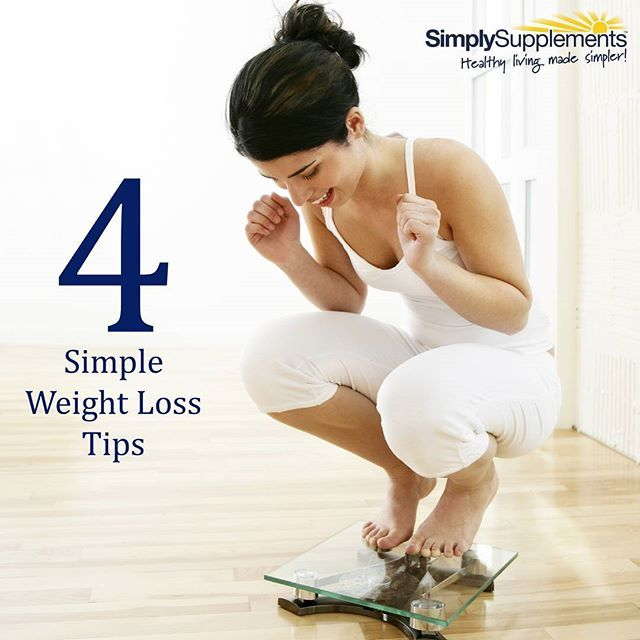 Here are our 4 simple weight loss tips to help you achieve your weight loss goals and get you looking good and feeling great for summer!  1) Focus on building a healthy lifestyle (not weight loss) and the weight will drop as a result of this. 2) Use a closed fist as a guide for portion sizes of protein and carbohydrates. 3) Cut the sugar in your coffee, or even better, opt for a green tea instead. 4) Increase your weekly exercise time by 20 minutes each week.  #weightloss #diet…