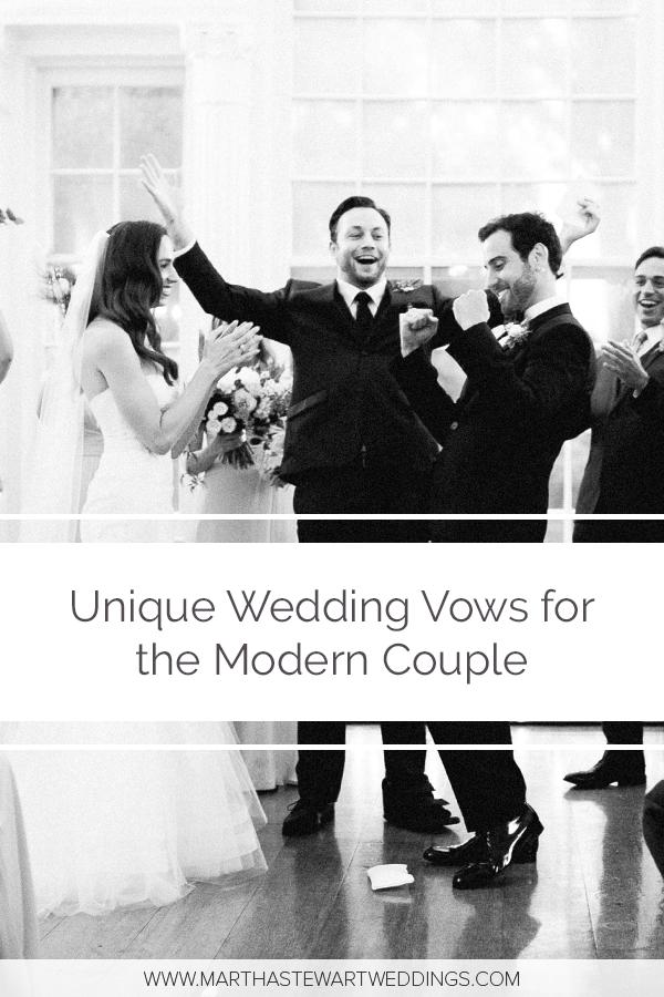 Unique Wedding Vows for the Modern Couple Unique wedding