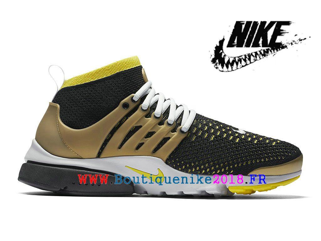 info for 2fbe7 a4eeb Chaussures de Sports Nike Pas Cher Pour Homme Nike Air Presto Flyknit Ultra  Noir   couleur
