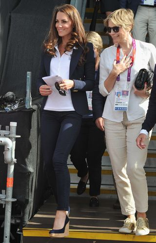 Kate Middleton's Looks from London 2012. Photo by Getty Images