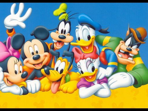 Disney Mickey Mouse And Friends Wallpaper Murals For