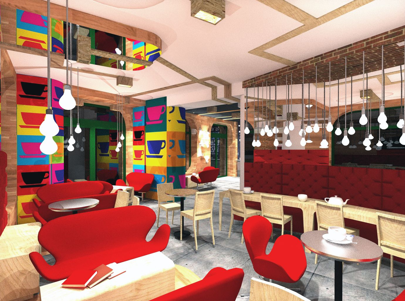 new york pop art cafe | bistros, cafes, pubs (people and