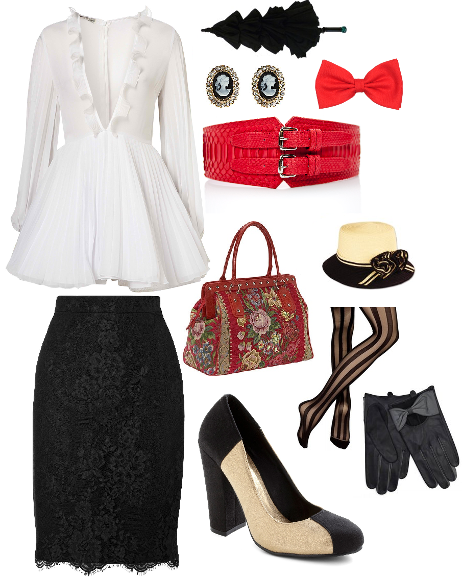 Modern Mary Poppins Costume